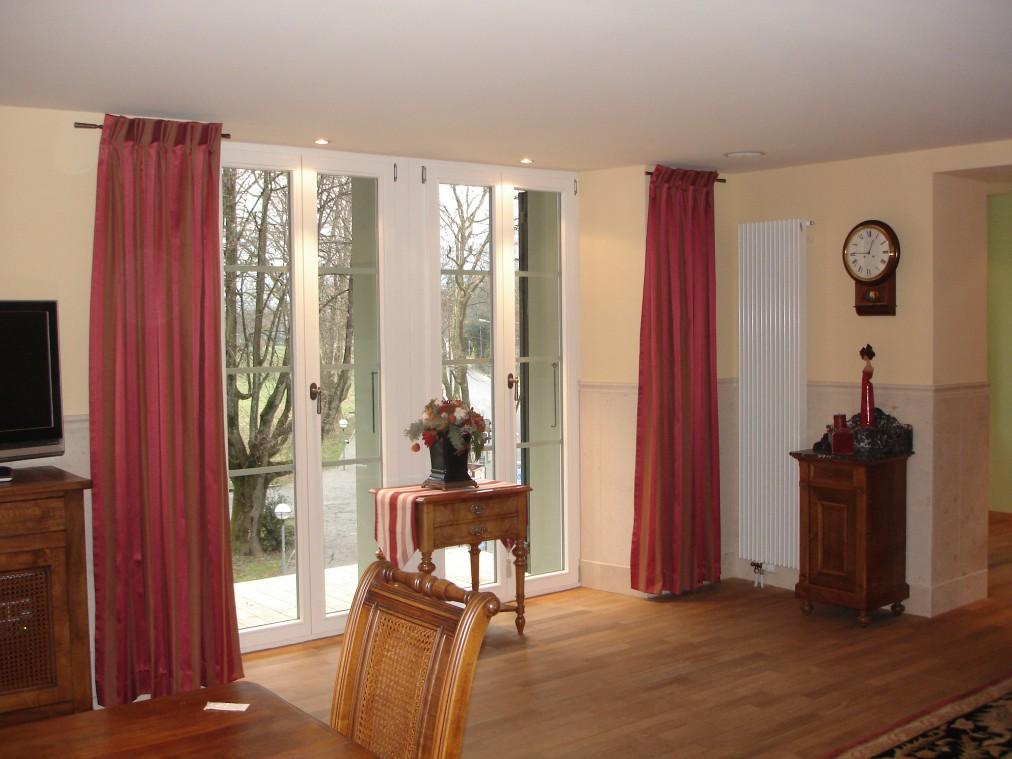 konventionelle vorh nge innendekorationen gempeler. Black Bedroom Furniture Sets. Home Design Ideas